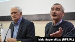 Амиран Гамкрелидзе и Паата Имнадзе