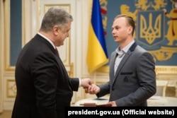Петр Порошенко и Александр Абраменко