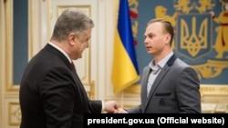 Петро Порошенко та Олександр Абраменко