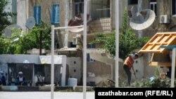 Gurluşyk işleri, Aşgabat,17-nji iýul, 2013.