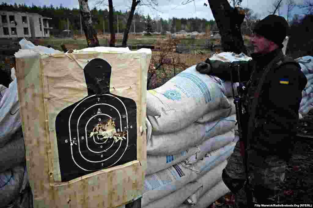 Практика ведення вогню також є частиною навчань військових