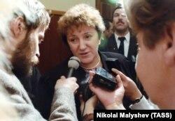 Галина Старовойтова, декабрь 1992 года