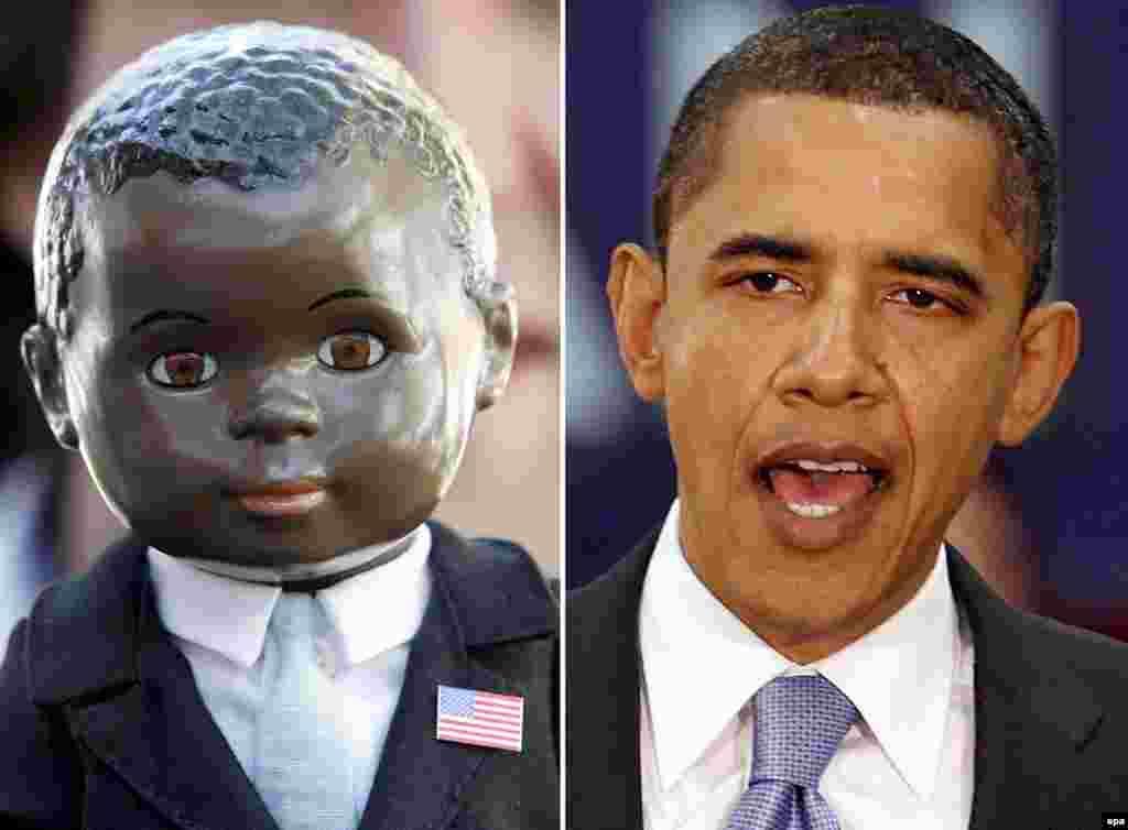 ...و ناگهان باراک اوباما ستاره شد. از او مجسمه ساختند...