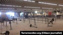 У приміщенні аеропорту після теракту