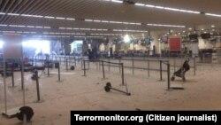 Брюссель аэропорти портлашдан кейин, 2016 йил 22 марти.