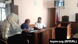 Заседание суда по делу Ильми Умерова