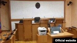 Jedna od sudnica u Srbiji