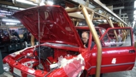 Yugo on the production line