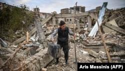 Нагорный Карабах. По обе стороны вооруженного конфликта (фотогалерея)