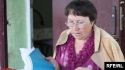 Раиса Селезнева, мать осужденного мусульманина Валерия Твердохлеба. Кокшетау, 2 июня 2010 года.