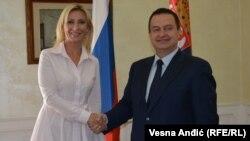 Marija Zaharova i Ivica Dačić