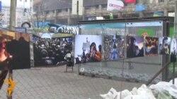 На Євромайдані відкрилася виставка фоторобіт