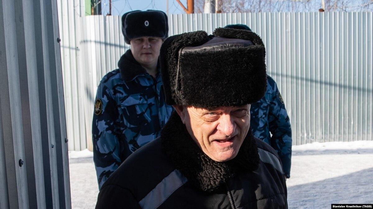 Россия: на волю вышел отставной полковник ГРУ, которого обвиняли в терроризме