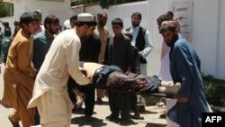 Взрыв в городе Лашкаргах, административном центре афганской провинции Гильменд, 22 июня 2017 года