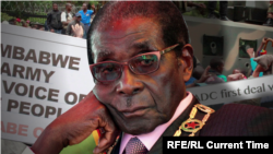 досегашниот претседател на Зимбабве Роберт Мугабе
