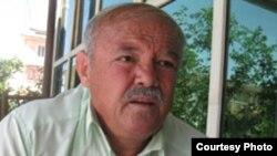 Тәжікстанның Хатлон облысындағы өзбек диаспорасының басшысы Салим Шамсиддинов. Душанбе, 7 мамыр 2012 жыл.