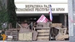 Мітинг під Верховною Радою Криму