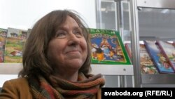 Сьвятлана Алексіевіч, архіўнае фота