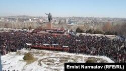 Kyrgyz Opposition Rallies In Osh