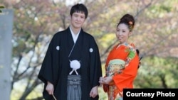 Супруги Канат и Минами Сейтеновы.