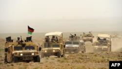 آرشیف، نیروهای امنیتی افغانستان در هرات