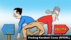 Karikatura Predraga Koraksića Koraksa (jul, 2014)