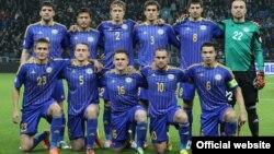 Казахстанская сборная по футболу. Фото с сайта ФФК.