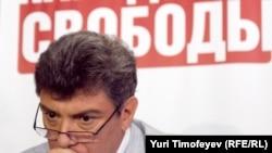 Boris Nemțov lider al blocului de opoziție Partidul Libertății Poporului
