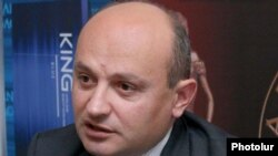 Armenia - Stepan Safarian, a leader of the opposition Zharangutyun (Heritage) party.