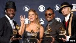 The Black Eyed Peas - на награждении «Грэмми». Лос-Анджелес, февраль 2007 г.