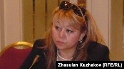 Роза Акылбекова, исполняющая обязанности директора Казахстанского бюро по правам человека. Астана, 13 декабря 2010 года.
