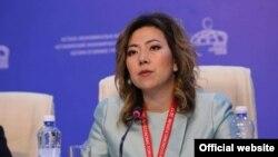 Министр труда и социальной защиты населения Казахстана Мадина Абылкасымова.