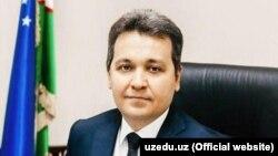 Ўзбекистон Халқ таълими вазири Шерзод Шерматов.