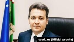 Министр народного образования Узбекистана Шерзод Шерматов.