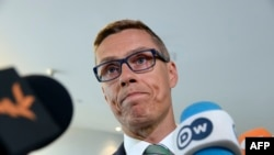 The Prime Minister of Finland Alexander Stubb.
