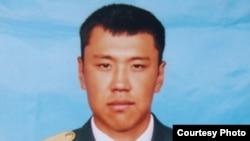 Капитан Алтынбек Кереев, погибший на посту «Арканкерген» в Алматинской области.