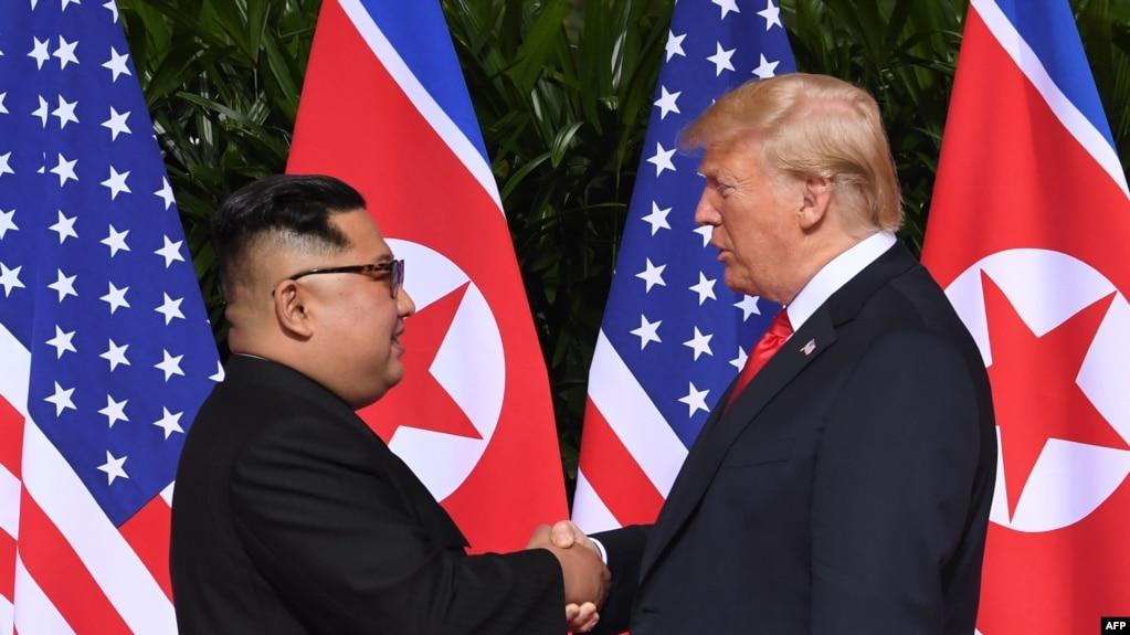 Дональд Трамп и Ким Чен Ын начали переговоры