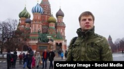 Олексій Гончаренко у Москві у неділю (фото з Facebook депутата)