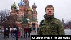 Олексій Гончаренко у Москві (фото з Facebook народного депутата)
