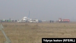 the plane crashed In Osh