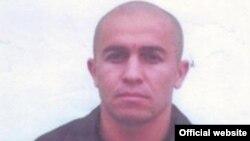 Тәжікстан полициясы іздеу жариялаған түрмеден қашқан Рамзуллохон Додохоновтың суреті. 18 маусым 2016 жыл.