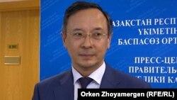 Қайрат Әбдірахманов, Қазақстан сыртқы істер министрі.