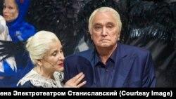 Алевтина Константинова и Владимир Коренев в спектакле «Синяя птица»