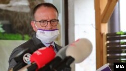 Шефот на изборен штаб на Алијансата за Албанците, Арбен Таравари