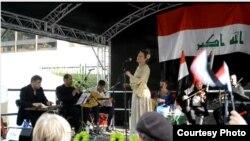 فرقة سومر على المسرح المفتوح في مهرجان لندن الثقافي