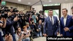 Премиерите на Македонија и на Грција, Зоран Заев и Алексис Ципрас на средба во мај, годинава