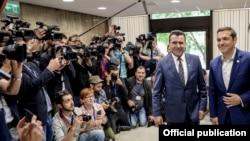 Софија- Премиерите на Македонија и на Грција, Зоран Заев и Алексис Ципрас на втората средба на 17.05.2018