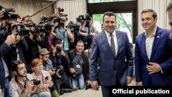 Zoran Zaev i Aleksis Cipras u Sofiji 17. maja