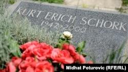 """Urna s dijelom pepela Šorkovog tijela, položena je u grob ispod Admirinog i Boškovog, na sarajevskom """"Lavu"""""""