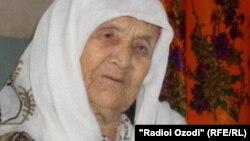 Роҳила Ҷаъфарова - зани куҳансолтарини ноҳияи Фархор